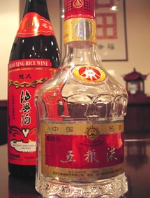 五糧液と紹興酒